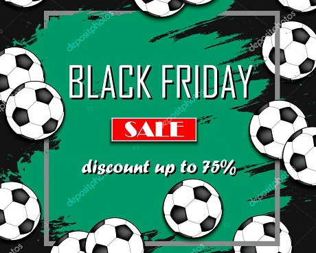 Black Friday Sale soccer ball